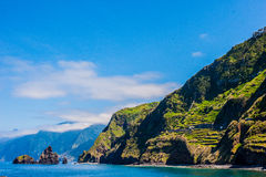 Landscape of madeira island Royalty Free Stock Images