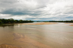 Landscape of Maeping river Royalty Free Stock Photo