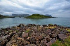 Landscape of Mageroya Island, Norway Royalty Free Stock Photo