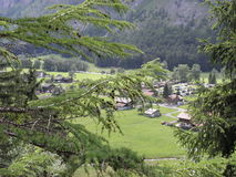 Landscape3. A magnificent mountain landscape for travelers to Switzerland Royalty Free Stock Photos