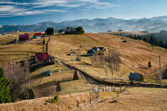 Landscape in Magura, Brasov Royalty Free Stock Images