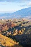 Landscape in Magura, Brasov Stock Images