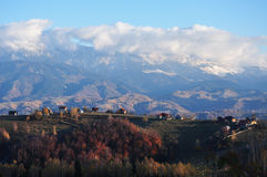 Landscape in Magura, Brasov Royalty Free Stock Photography