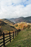 Landscape in Magura, Brasov Stock Photos