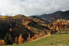 Landscape in Magura, Brasov Stock Photo