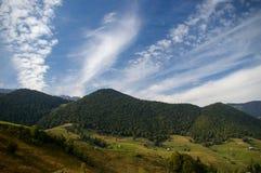 Beautiful Landscape in Magura village, landmark attraction in Romania Stock Photography