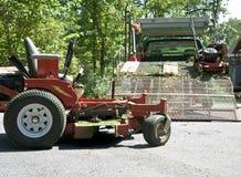 Landscape Maintenance royalty free stock image