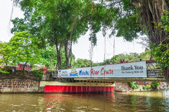 Landscape of the Malacca River. Malacca has been listed as a UNESCO World Heritage Site since 7 July 2008. Malacca, Malaysia - July 15,2017 : Landscape of the Stock Photography