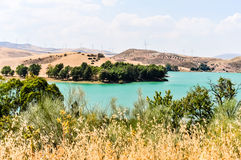Landscape In Malaga, Andalusia, Spain Royalty Free Stock Photography
