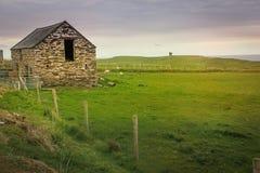 Landscape. Malin Beg. county Donegal. Ireland. Coastal landscape and martello tower. Malin Beg. near Glencolumbkille. county Donegal. Ireland Royalty Free Stock Photography
