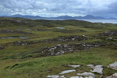 The landscape of Malin Head in Ireland. Landscape of Malin Head in Ireland Royalty Free Stock Photo
