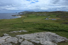 The landscape of Malin Head in Ireland Royalty Free Stock Photos