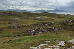 The landscape of Malin Head in Ireland. Landscape of Malin Head in Ireland Royalty Free Stock Images