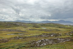 The landscape of Malin Head in Ireland. Landscape of Malin Head in Ireland Stock Photos