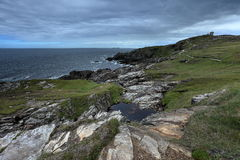The landscape of Malin Head in Ireland Royalty Free Stock Photography