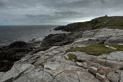 The landscape of Malin Head in Ireland. Landscape of Malin Head in Ireland Stock Photography