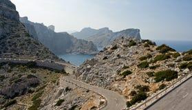 Landscape from Mallorca. Landscape of island Mallorca, Spain stock photo