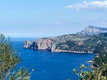 Landscape Mallorca. Landscape Europe Mallorca in Summer Stock Photo