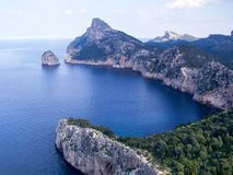 Landscape Mallorca. Landscape Europe Mallorca in Summer Royalty Free Stock Image