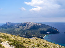 Landscape Mallorca. Landscape Europe Mallorca in Summer Royalty Free Stock Photo
