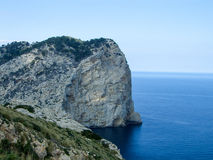 Landscape Mallorca. Landscape Europe Mallorca in Summer Stock Photo