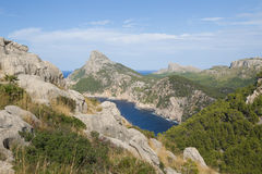 Landscape on Mallorca Royalty Free Stock Images
