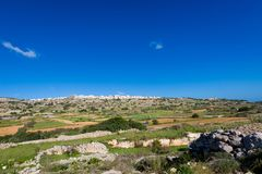 Landscape of Malta island. Beautiful landscape of Malta island. Beautiful landscape in south Europe Royalty Free Stock Photography
