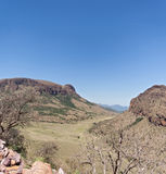 Landscape in the Marakele National Park, South Africa Stock Photo