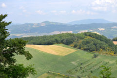 Landscape in the Marche - Italy Stock Photo