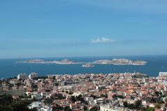 Landscape marseilles Royalty Free Stock Images