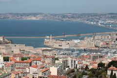 Landscape marseilles Royalty Free Stock Photo