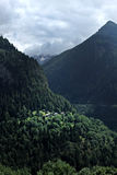 Landscape of Martigny Royalty Free Stock Images