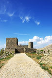 Landscape of Marvao castle Royalty Free Stock Photography