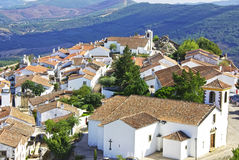Landscape of Marvao,old village. Stock Photography