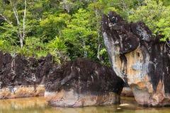 Landscape of Masoala National Park, Madagascar Royalty Free Stock Photo