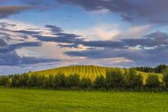 Landscape in Masuria region Stock Images
