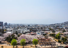 Landscape of Matsumoto city, Japan 1 Royalty Free Stock Photos