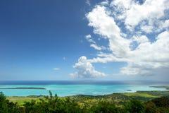Landscape of Mauritius island Royalty Free Stock Photography