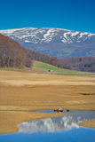 Landscape from Mavrovo region Royalty Free Stock Photos