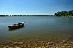 Landscape of mazurian lake Royalty Free Stock Photos