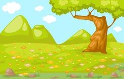 Landscape meadow Stock Image