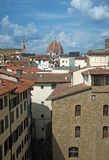 Landscape of Medieval roofs of Florence, Italy Stock Photography