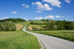 Landscape of Medjimurje, Croatia Stock Photography