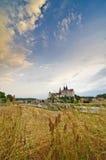 Landscape with Meissen Stock Photos