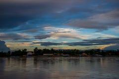 Landscape of mekong river Stock Images