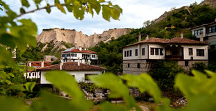 Landscape from Melnik, Bulgaria Royalty Free Stock Photos