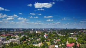 Landscape of Minsk city in Belarus stock photo
