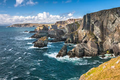 Landscape of Mizen Head cliffs, Ireland Stock Image