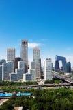 Landscape of modern city Royalty Free Stock Photo