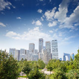 Landscape of modern city,beijing Stock Images